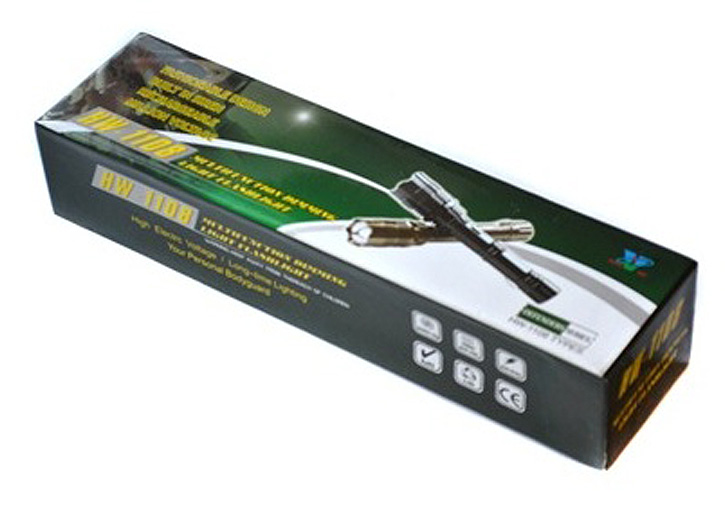 Электрошокер фонарь дубинка Flashlight Z Ultra Фото №4