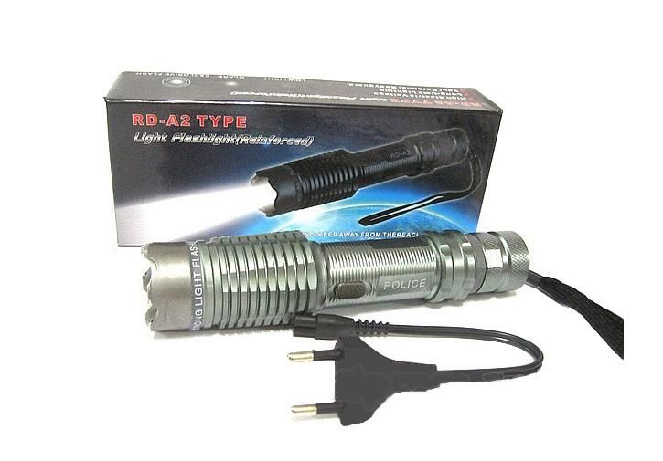 Электрошокер фонарь Оса-А2 Metal Vip Фото №3