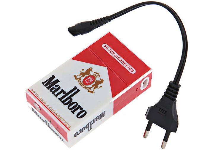 Электрошокер фонарь Пачка сигарет Marlboro Фото №4