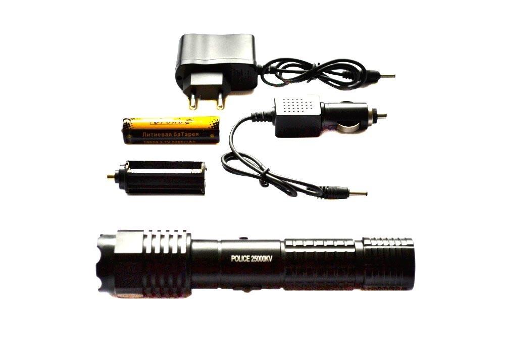 Электрошокер фонарь H-1103 Vip Original 2014 Фото №3